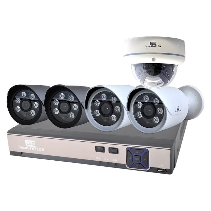 SC-XP45K-SecuSTATION-PoE給電-防犯カメラセット-BESTLABO
