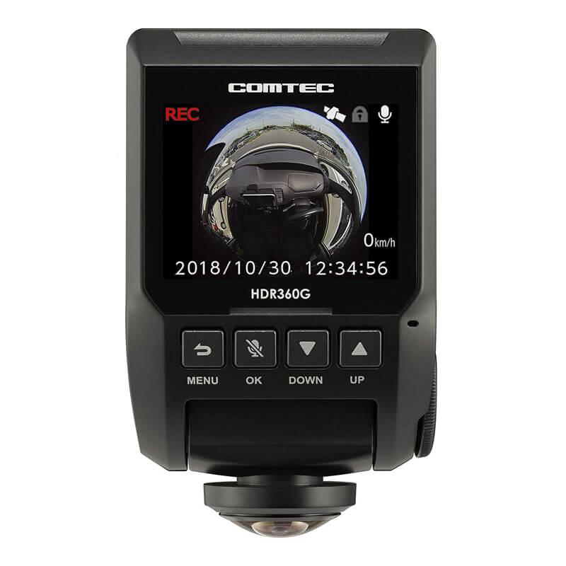 ドライブレコーダー 360度 HDR360G コムテック(COMTEC)
