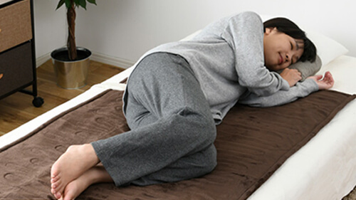 敷き電気毛布
