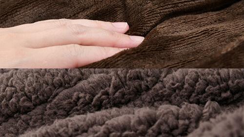 フランネル生地 電気毛布