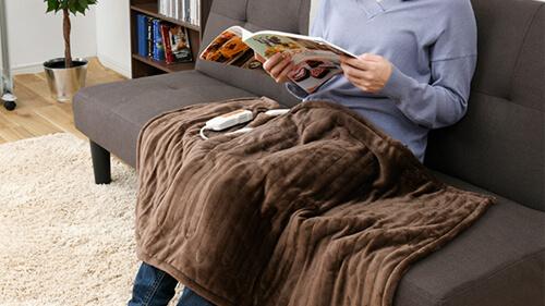 ひざ掛け電気毛布