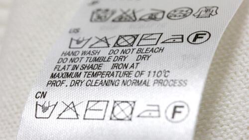 洗濯表示を確認する