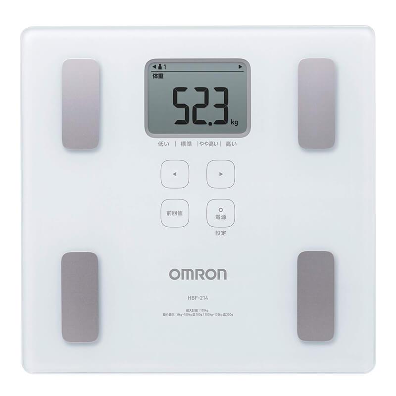 体重計 体組成計 カラダスキャン HBF-214 オムロン OMRON