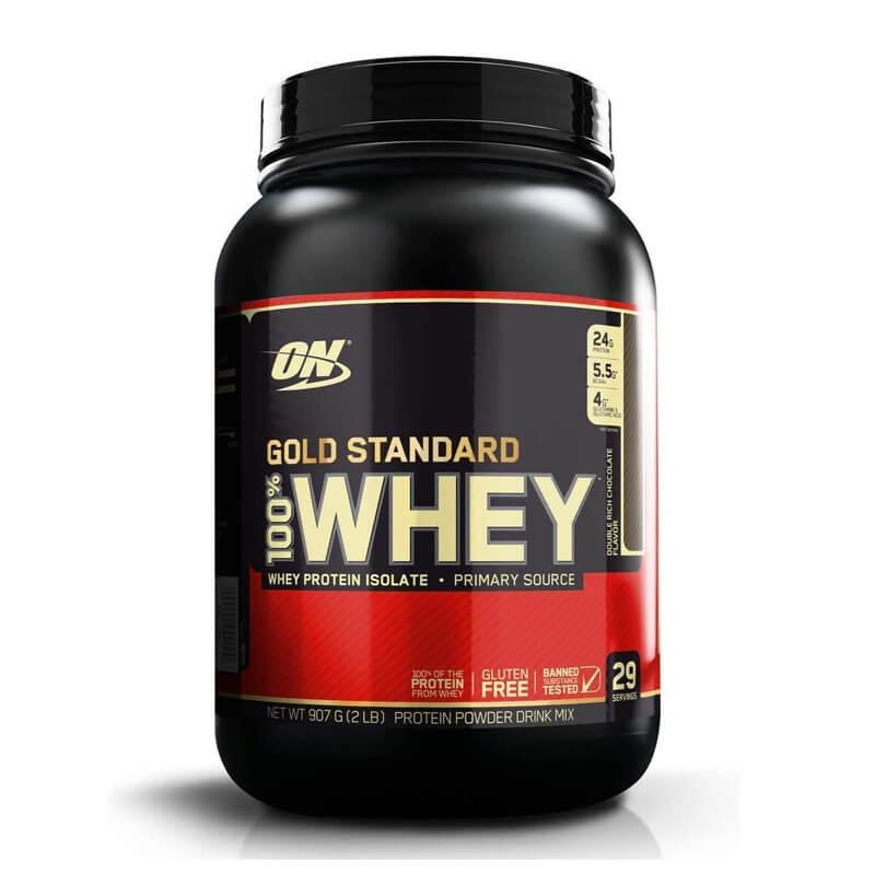 ゴールドスタンダード Gold Standard 100% ホエイプロテイン ダブルリッチチョコレート 907g オプティマムニュートリション Optimum Nutrition