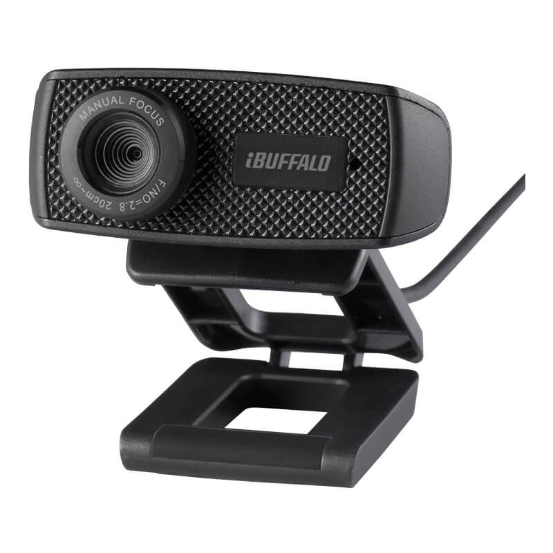 Webカメラ BSWHD06MBK バッファロー BUFFALO