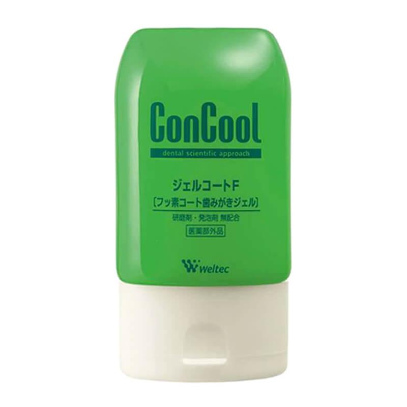 電動歯ブラシ用歯磨き粉 ジェルコートF ウエルテック weltec