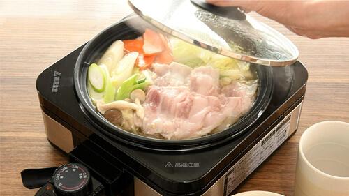 ホットプレート グリル鍋 焼き物から鍋料理まで対応