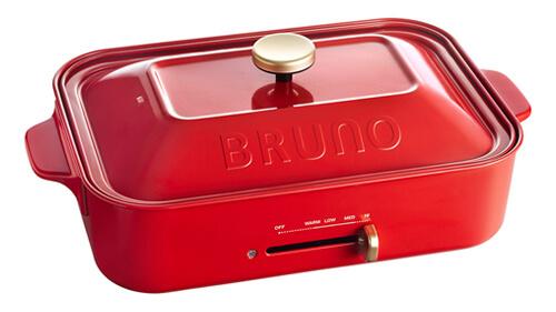 ホットプレート おすすめ人気メーカー ブルーノ BRUNO