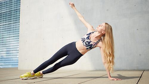 トランポリンの体幹トレーニング効果