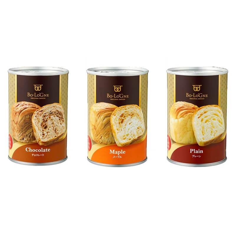 非常食セット ボローニャの美味しいパンの缶詰 3種類 缶deボローニャ