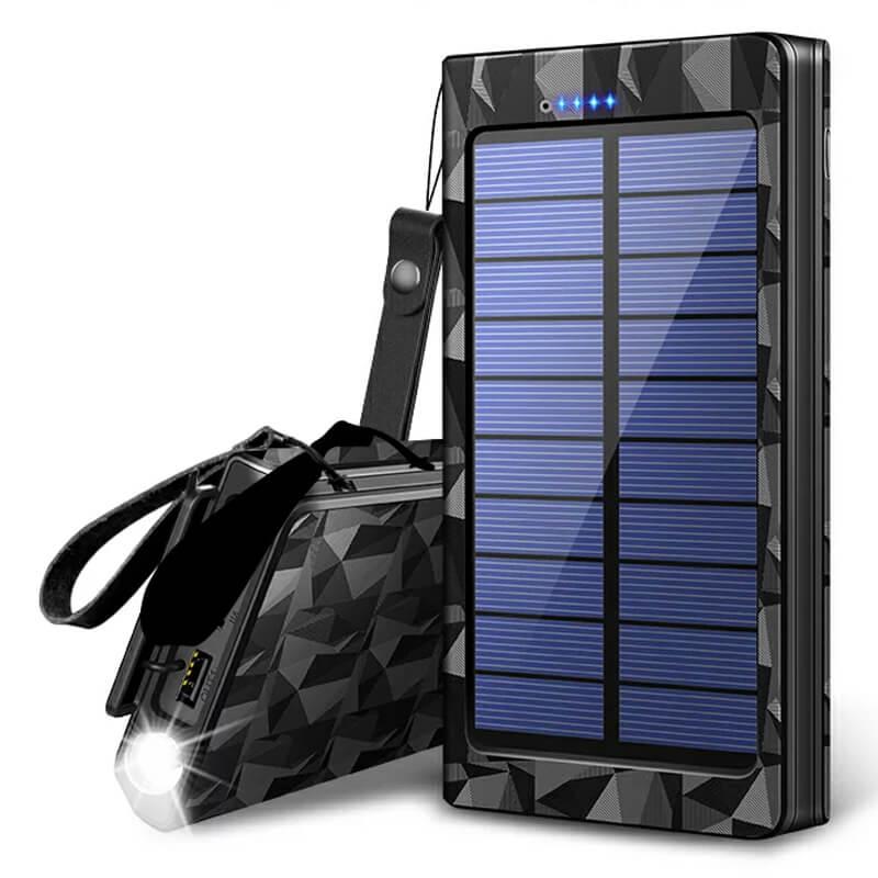 モバイルバッテリー ソーラーチャージャー 24000mAh ジョイハウス Joyhouse