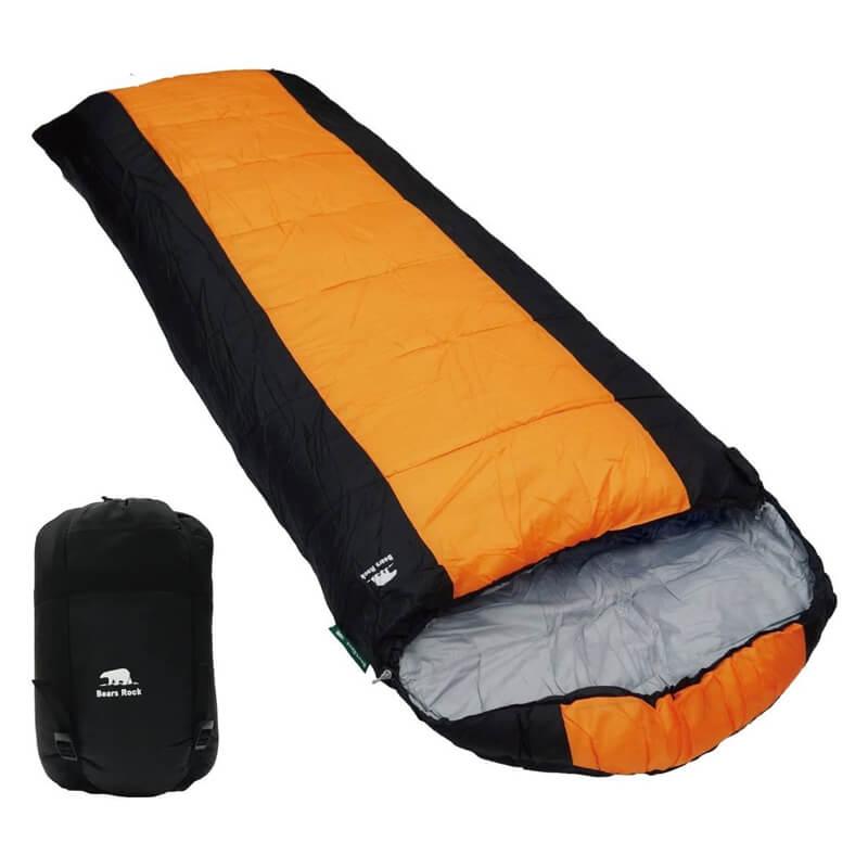 寝袋 シュラフ 封筒型 -6℃ MX-604 ベアーズロック Bears Rock