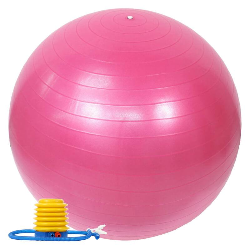 バランスボール 55cm フットポンプ付き イージーエス EGS