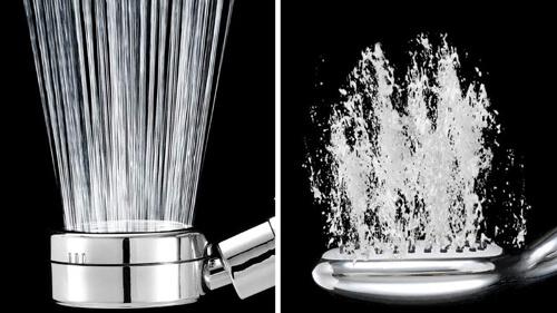 シャワーヘッドを水圧の強さで選ぶ