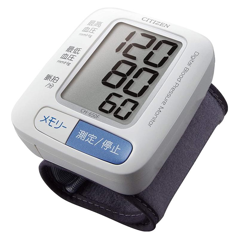 血圧計 手首式 CH-650F シチズン CITIZEN