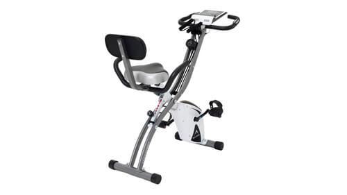 エアロバイク リカンベント 背もたれ付きで腰や膝への負担が少ない