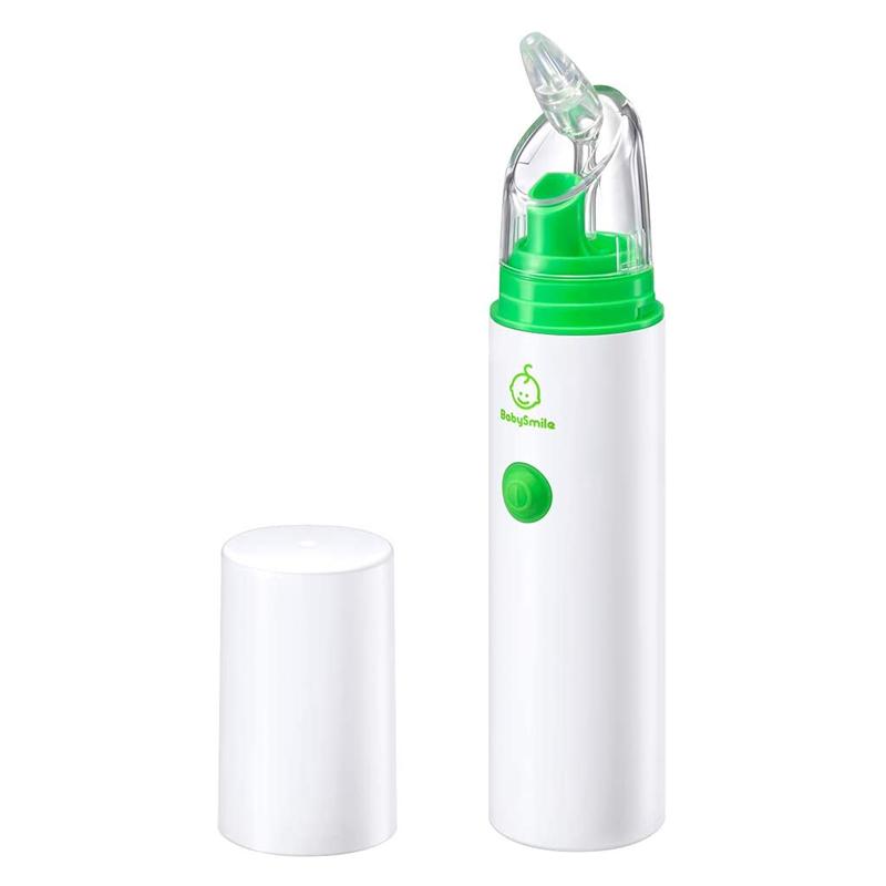 鼻吸い器 電動鼻水吸引器 ポータブルタイプ ボンジュールセット S-303 ベビースマイル BabySmile