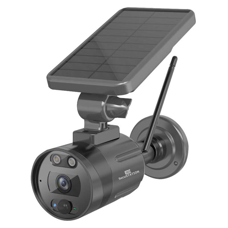 ワイヤレス防犯カメラ 屋外用 ソーラー充電式 SC-TR82 セキュステーション SecuSTATION