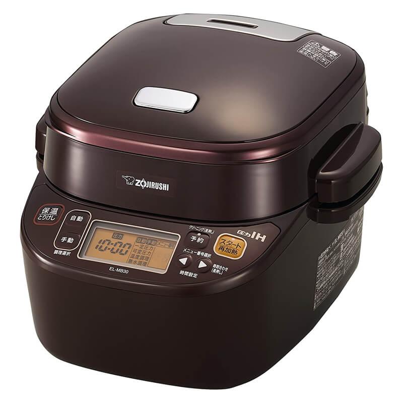 電気圧力鍋 自動圧力IHなべ 煮込み自慢 EL-MB30 1.5L 象印 ZOJIRUSHI