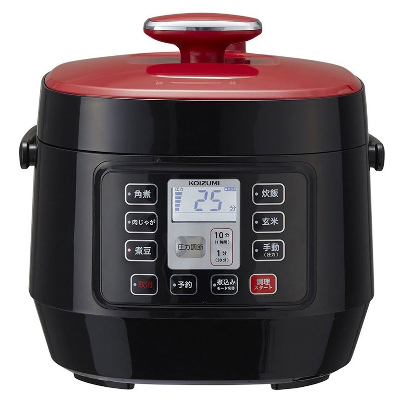 マイコン電気圧力鍋 KSC-3501/R 2.5L コイズミ KOIZUMI