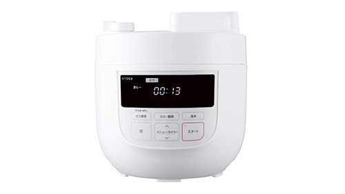 電気圧力鍋のおすすめ人気メーカー シロカ siroca