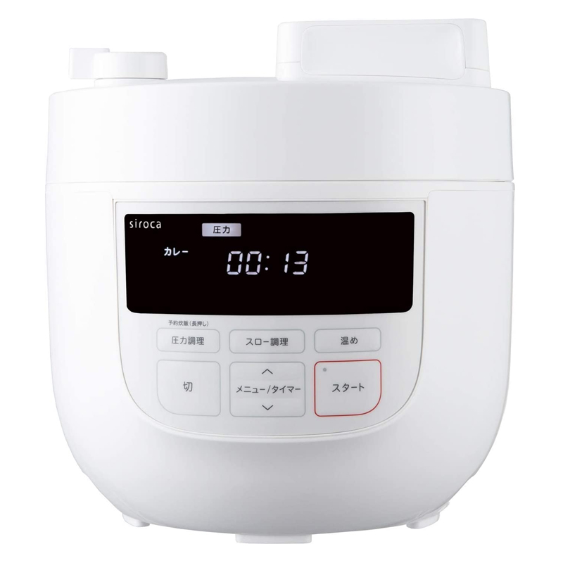 電気圧力鍋 SP-4D151 4.0L シロカ siroca