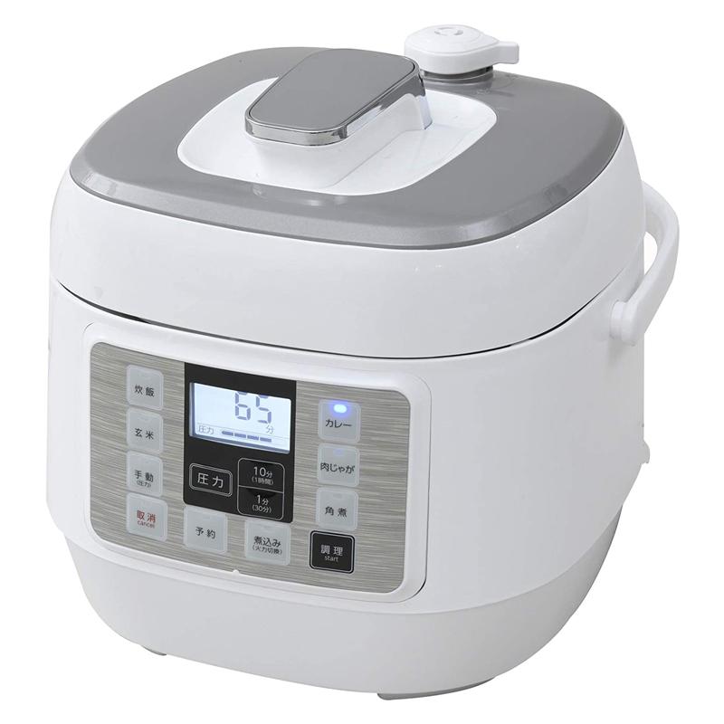 電気圧力鍋 EPCA-250M 2.5L 山善 YAMAZEN