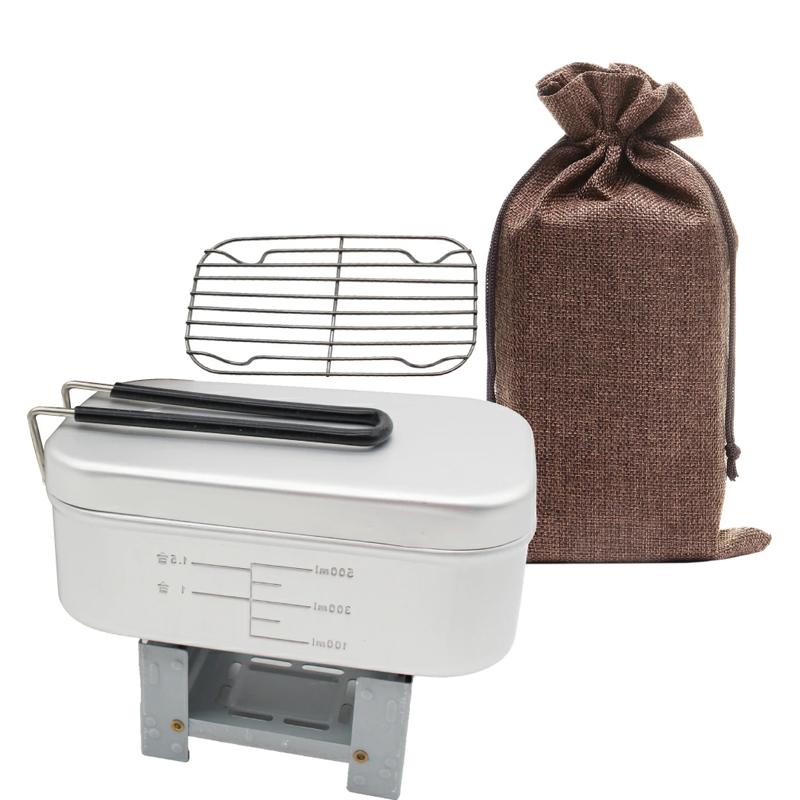 メスティン 飯盒 ポケットストーブ バット網付き ニーラック Neelac