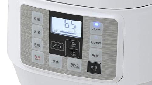 電気圧力鍋の予約調理機能