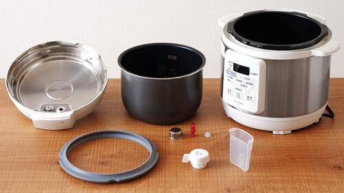 電気圧力鍋のフタの種類で選ぶ