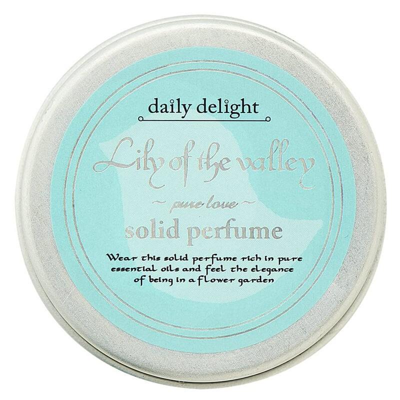 練り香水 ソリッドパフューム デイリーディライト daily delight