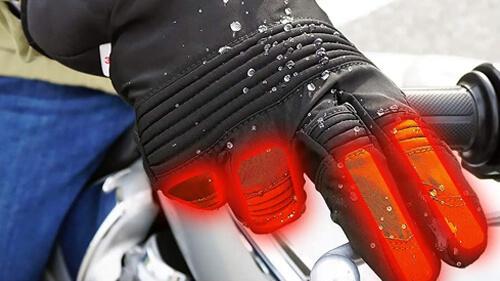 電熱グローブの電圧が高いとより保温性が高い