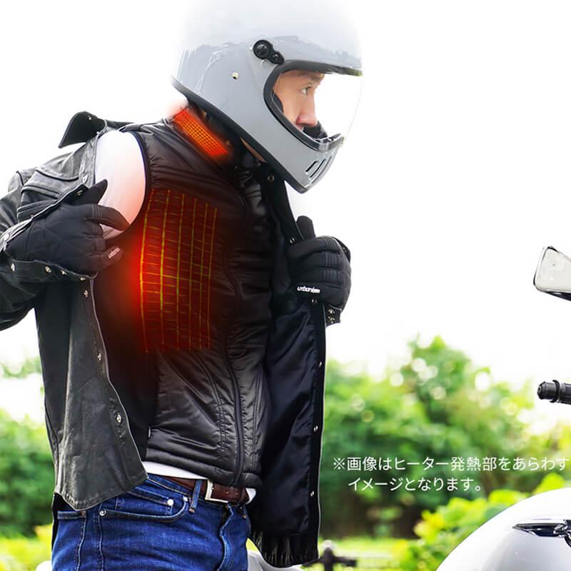 電熱ベスト めちゃヒート mecha HEAT MHV-02 株式会社アレグレット