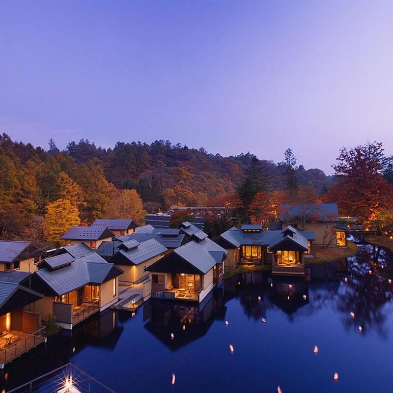 星のや軽井沢 温泉旅館