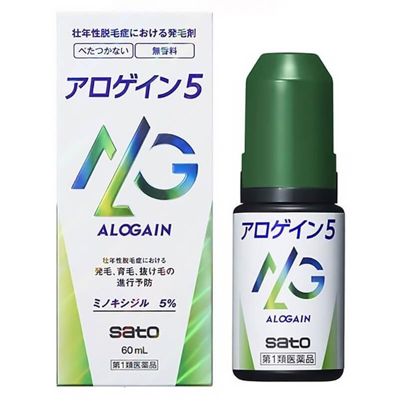 アロゲイン5 ALOGAIN 5 60ml サトウ製薬
