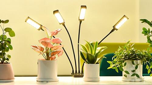 植物育成LEDライト アームタイプ