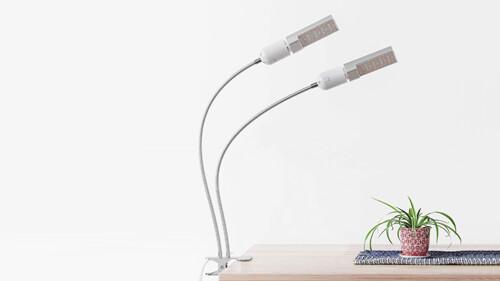 植物育成LEDライト クリップタイプ