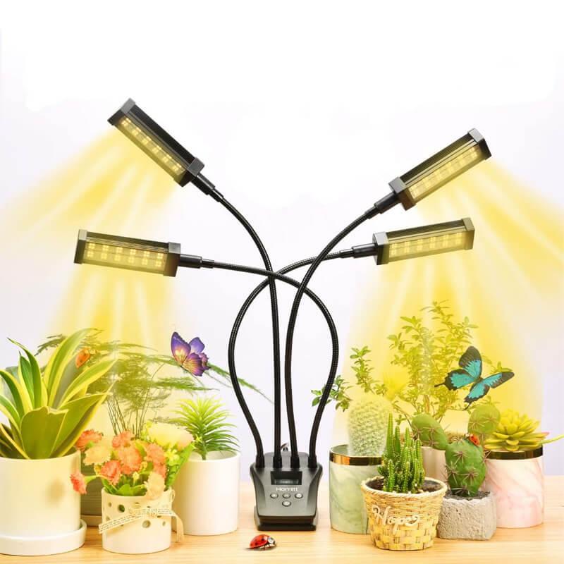 植物育成LEDライト フルスペクトル 192個LED Homitt
