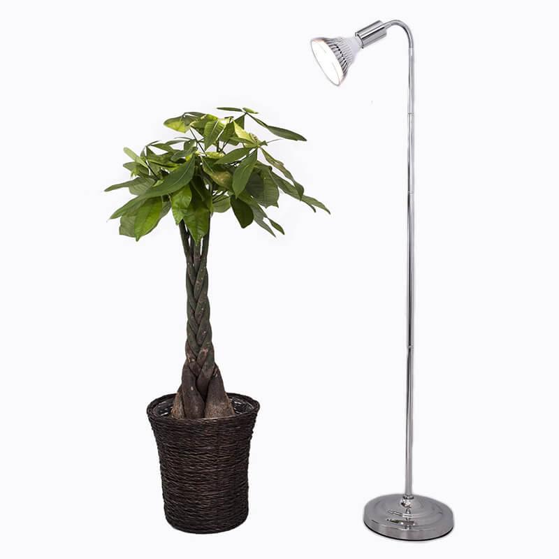 植物育成LEDライト PlantLight18W プラントスタンドA 110cm SUN-18W SHOP BARREL