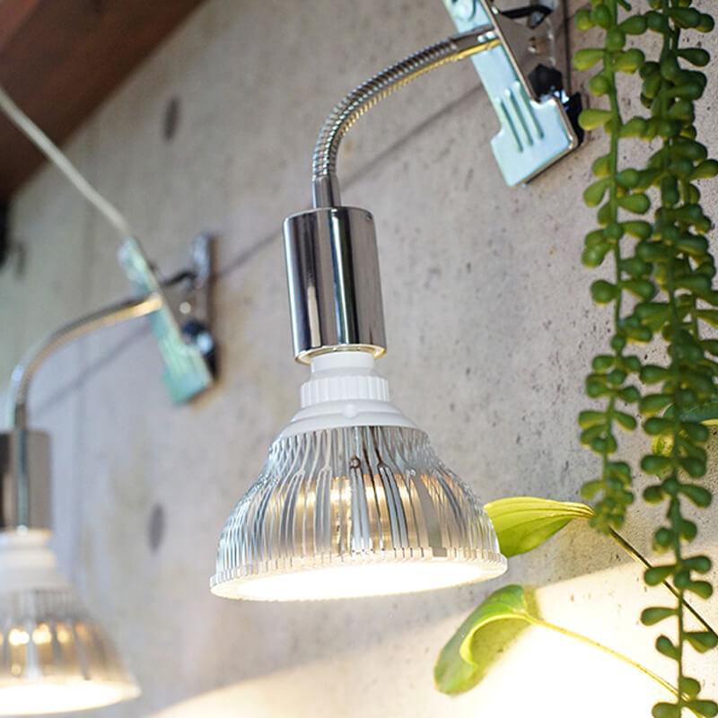 植物育成LEDライト PlantLight18 プラントクリップA SUN-18W SHOP BARREL