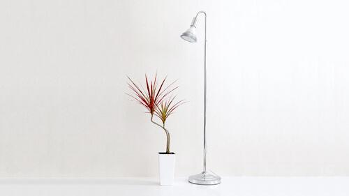 植物育成LEDライト スタンドタイプ
