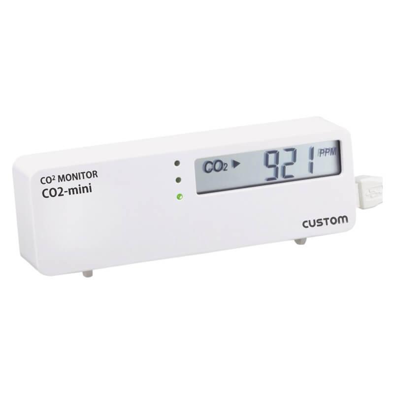 二酸化炭素濃度計 CO2モニター CO2-mini 株式会社カスタム