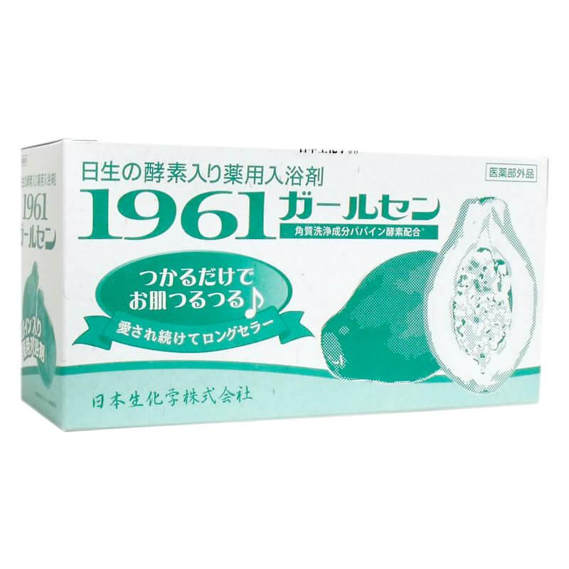 酵素入浴剤 薬用入浴剤 1961ガールセン 20g 60包 日本生化学株式会社