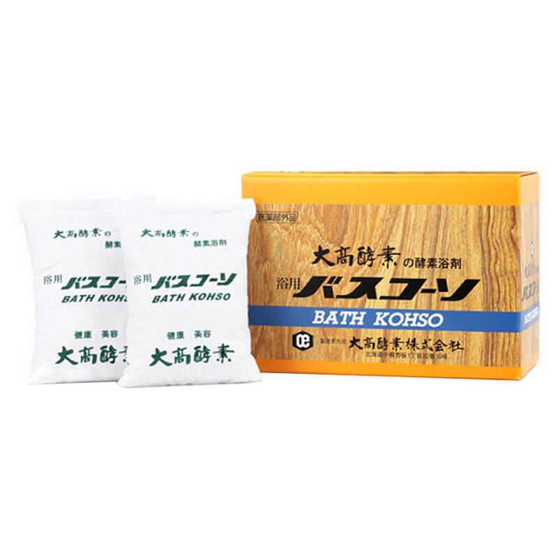 酵素入浴剤 浴用バスコーソ 100g 6包 日本生化学株式会社