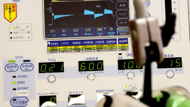 酸素吸入器と人工呼吸器の違いについて
