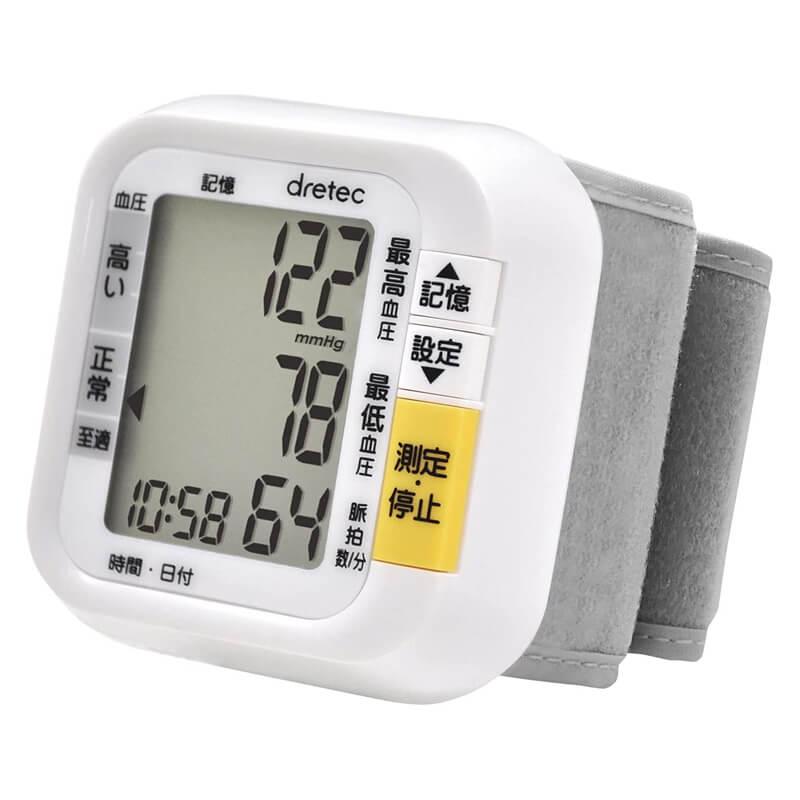 手首式血圧計 BM-100 ドリテック dretec
