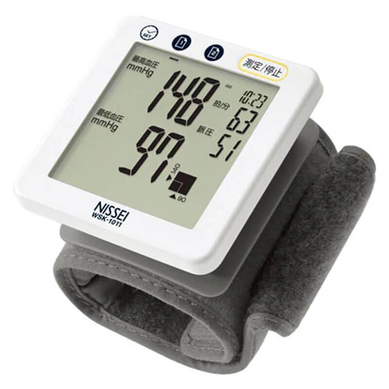 手首式血圧計 WSK-1011 日本精密測器